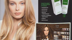 SPA окрашивание волос в салоне красоты